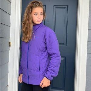 Patagonia purple nano air jacket medium